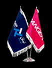 پرچم رو میزی جیر