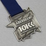 مدال برنجی برشکاری